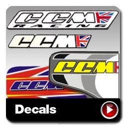 CCM 404 Decals
